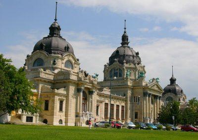 Szechenyi Fürdö, Városliget, Budapest