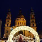 Karácsonyi vásár a Bazilikánál